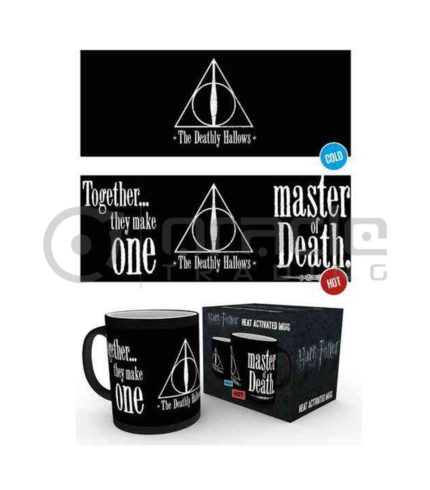 Harry Potter Deathly Hallows Heat Reveal Mug