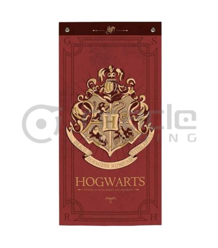 Harry Potter Banner - Hogwarts (Maroon)
