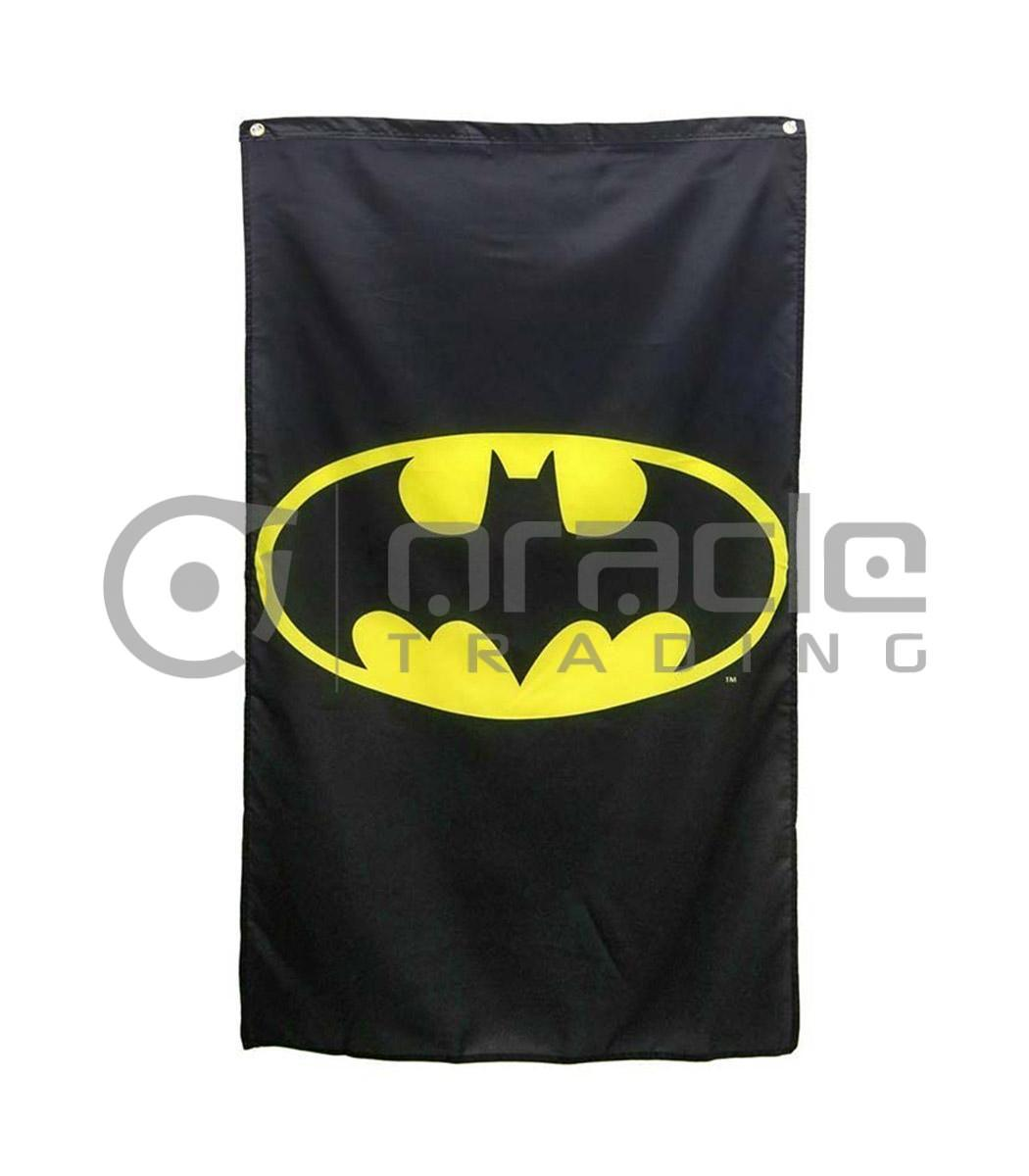 DC Comics Batman Logo Indoor Banner