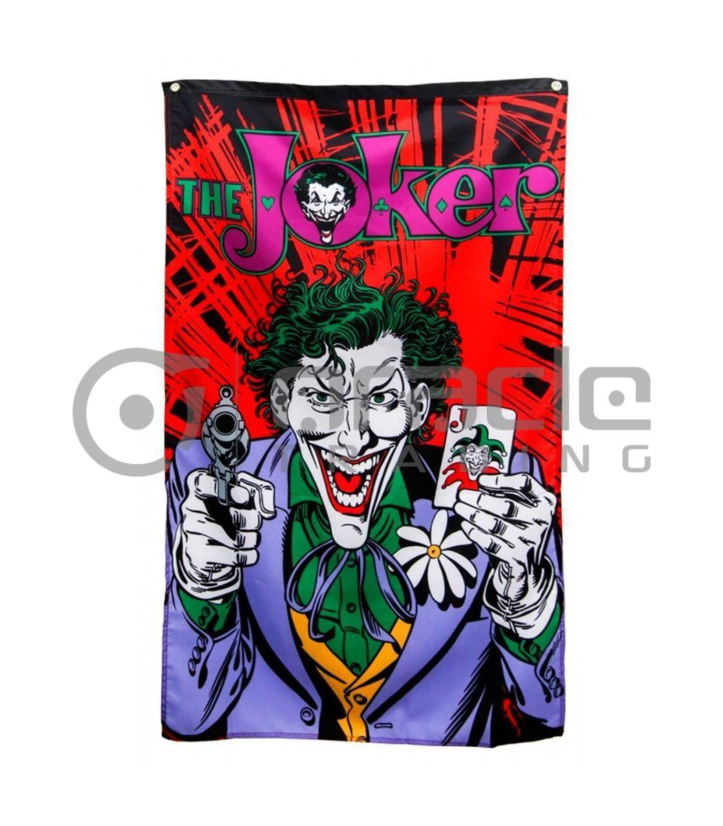 DC Comics Joker Gun & Cards Indoor Banner