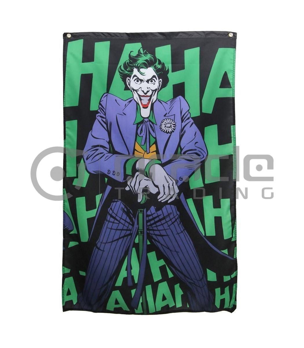 DC Comics Joker HaHa Indoor Banner