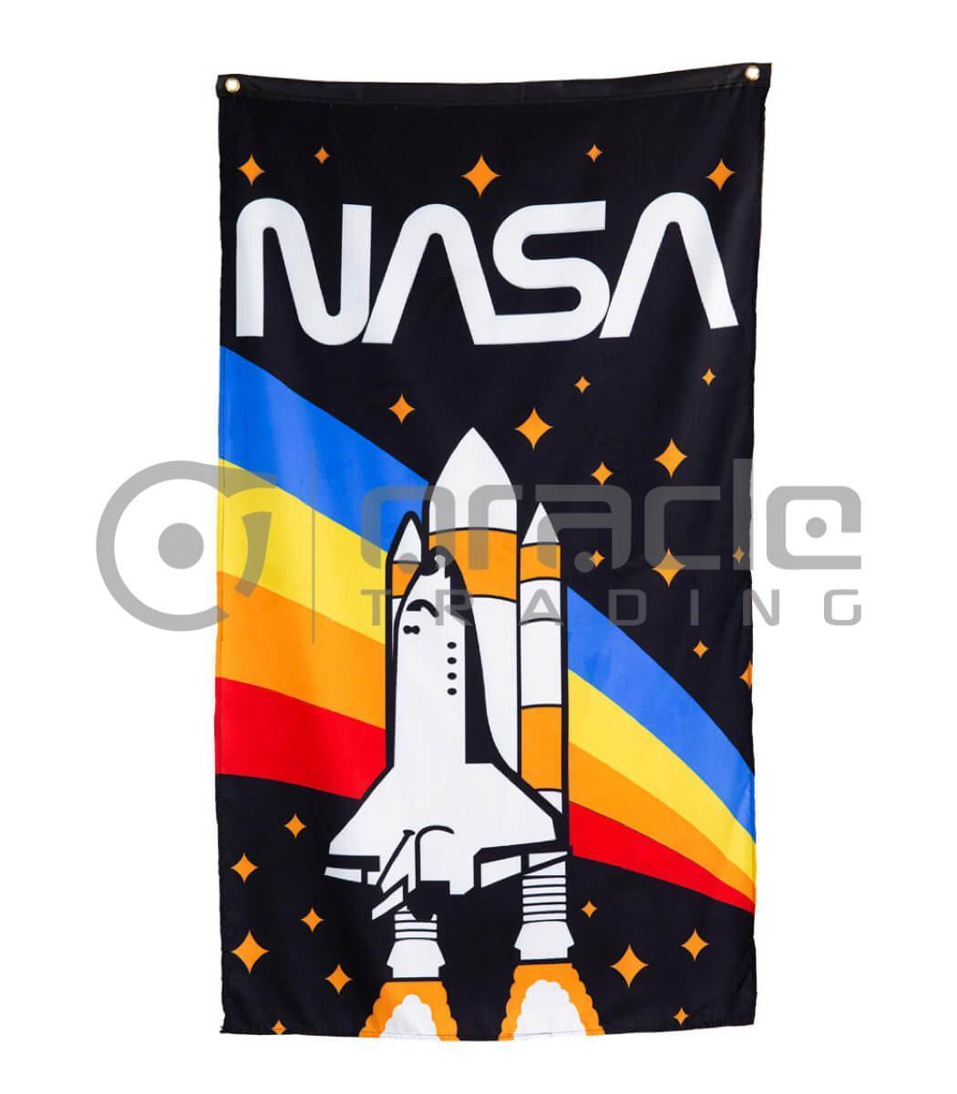 NASA Banner - Rocket
