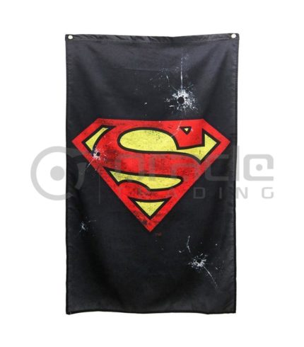 DC Comics Superman Logo Indoor Banner