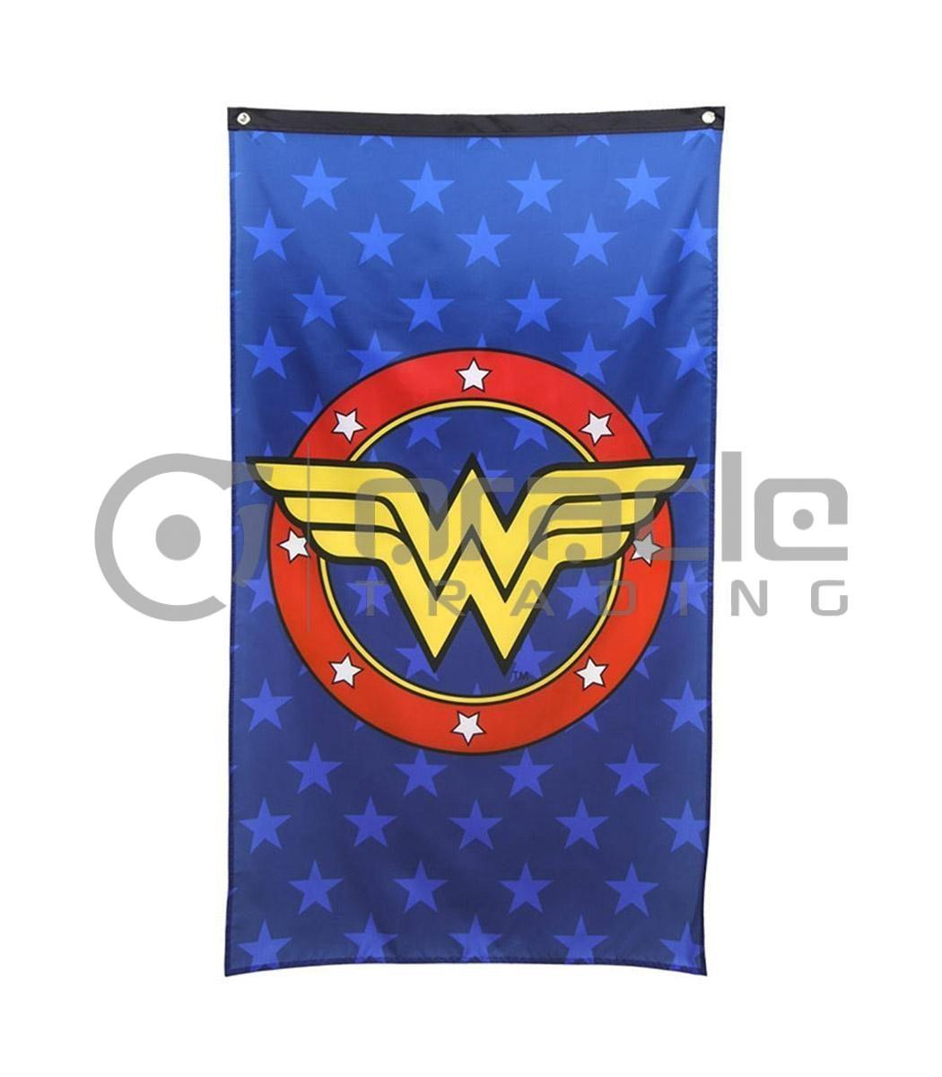 DC Comics Wonder Woman Logo Indoor Banner