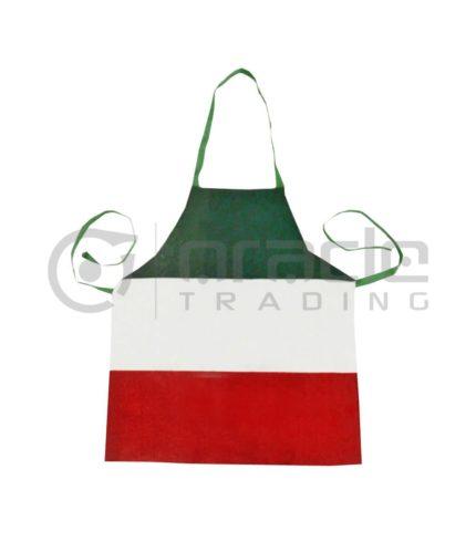Italia Flag Apron - Canvas