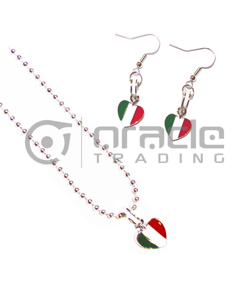 Italia Jewelry Set - Necklace & Earrings