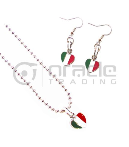 Italia Jewelry Set - Necklace & Earrings
