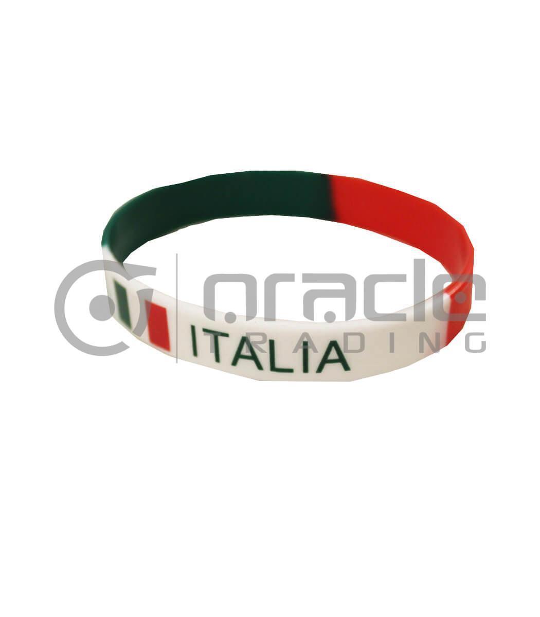 Italia Silicon Bracelet 12-Pack