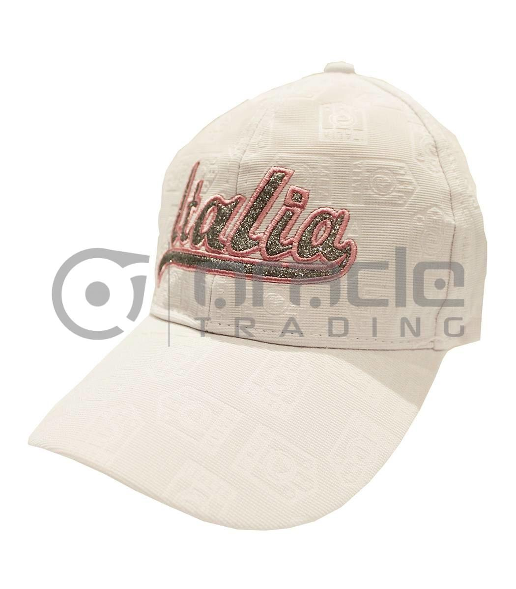 Italia Ladies Hat - White