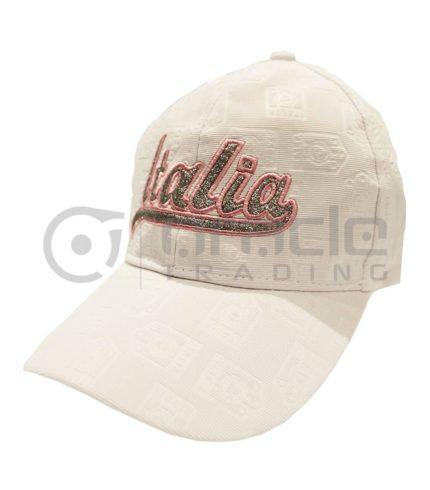 Italia Ladies Hat - White
