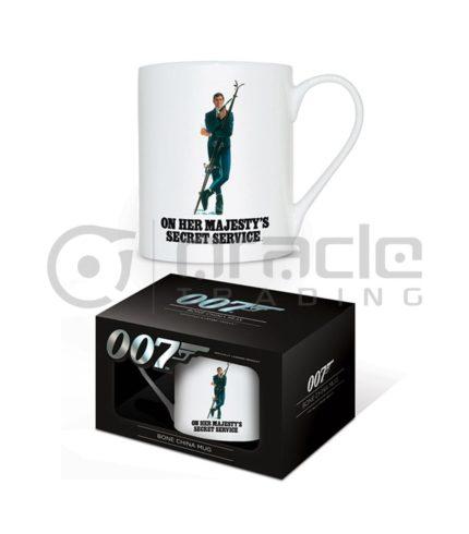 James Bond OHMSS Bone China Mug