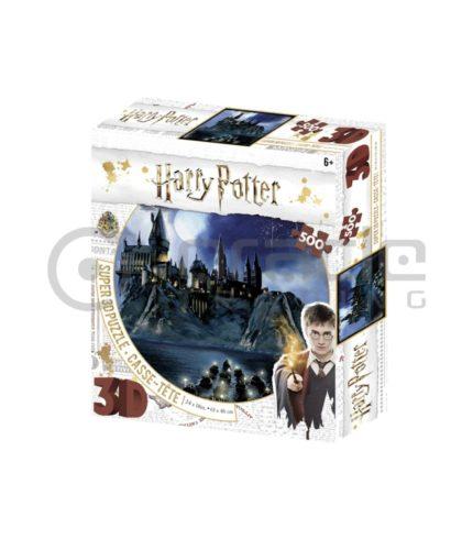 Harry Potter Jigsaw Puzzle - Hogwarts (3D)