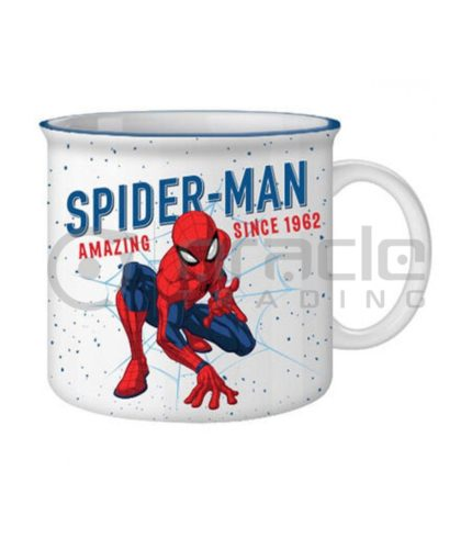 Spiderman Jumbo Camper Mug - 1962 Authentic