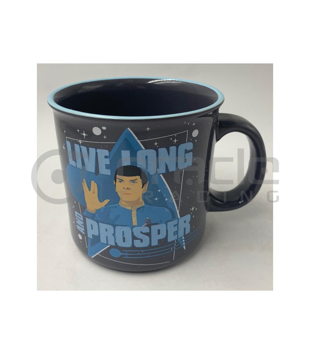 Star Trek Jumbo Camper Mug - Live Long & Prosper