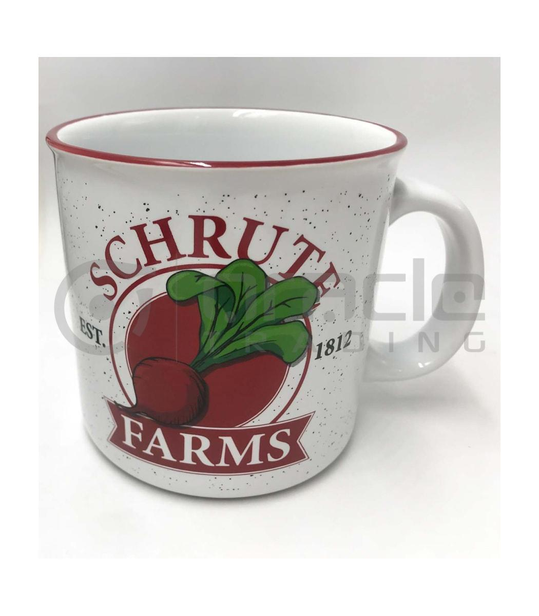 The Office Jumbo Camper Mug - Schrute Farms