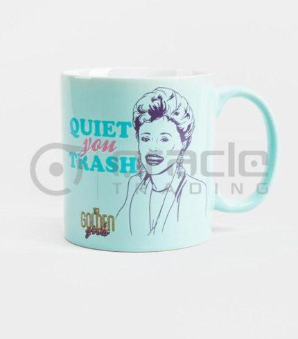 Golden Girls Jumbo Mug - Quiet You Trash