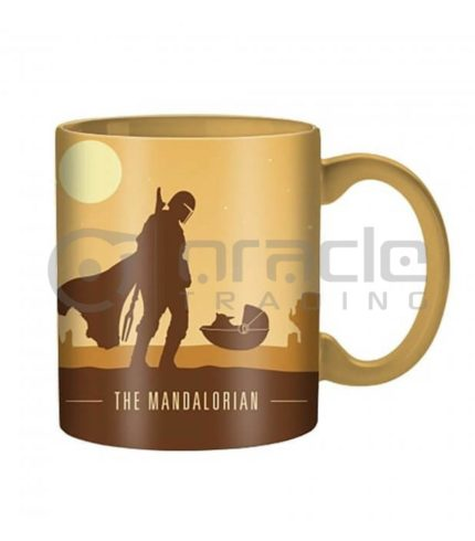 Star Wars: The Mandalorian Jumbo Mug - Silo Scene