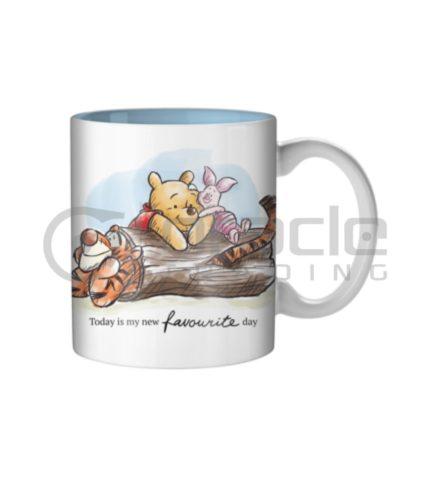Winnie the Pooh Jumbo Mug - Favourite Day