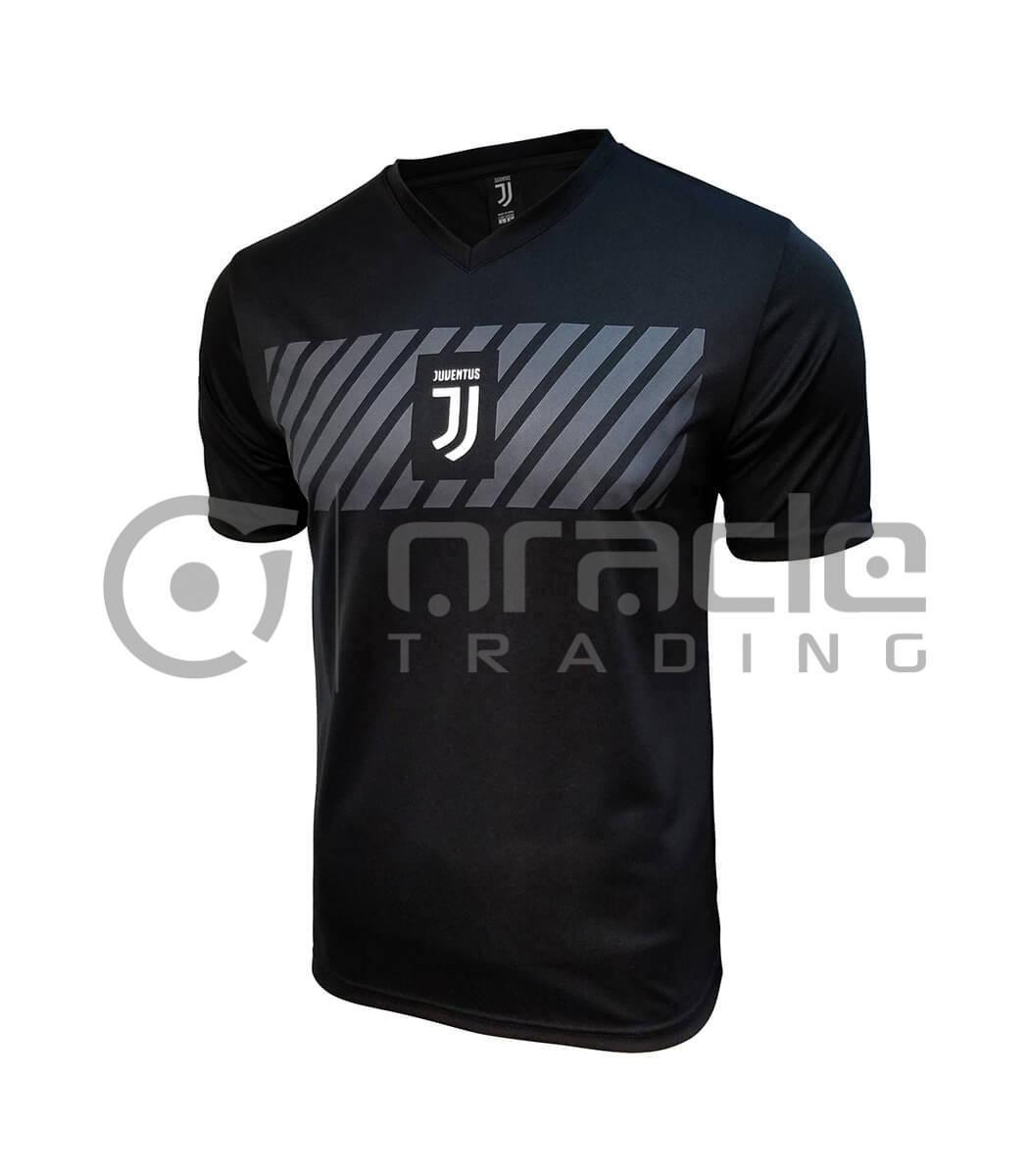 Juventus Black Soccer Shirt (Adults)
