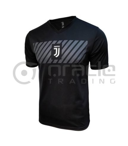 Juventus Black Soccer Shirt (Adults)