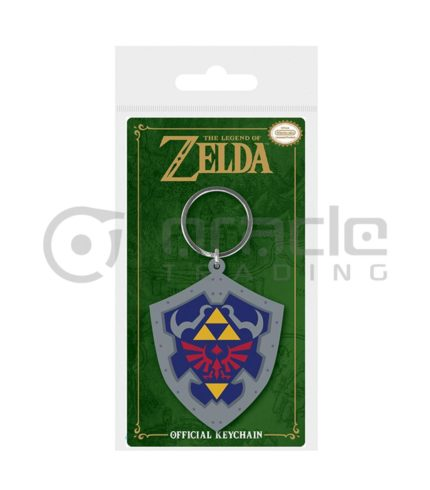 Zelda Hylian Shield Keychain