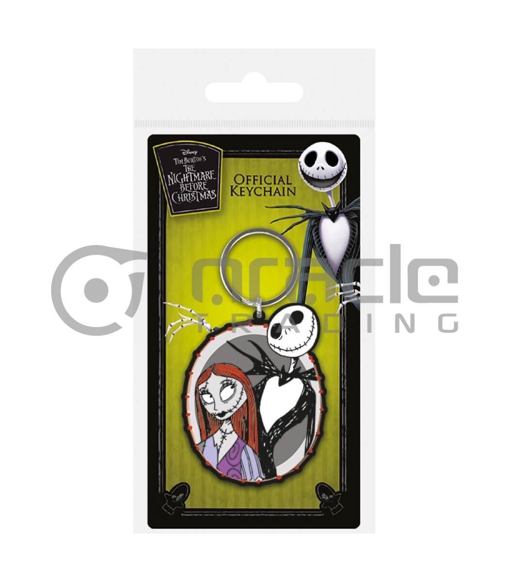 Nightmare Before Christmas Keychain - Jack & Sally