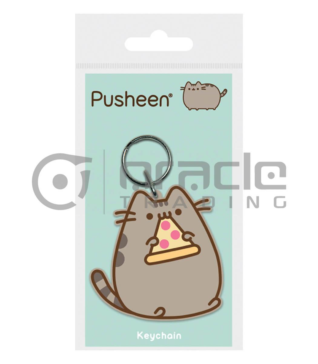 Pusheen Keychain - Pizza