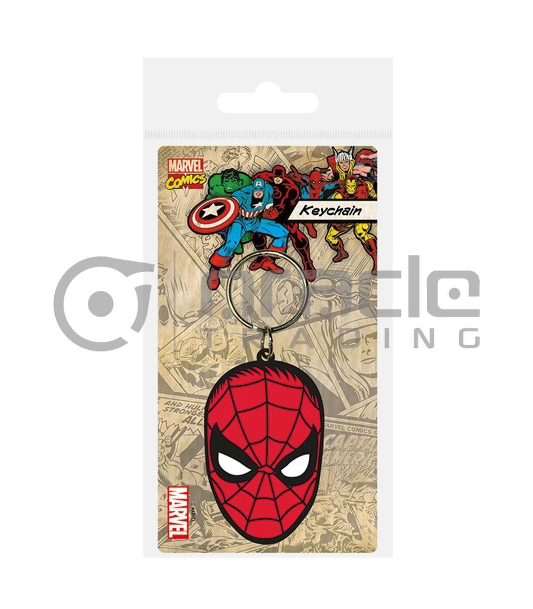 Spiderman Keychain - Face