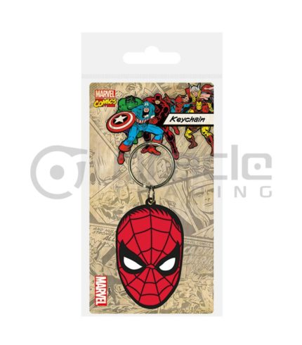 Spiderman Keychain - Face
