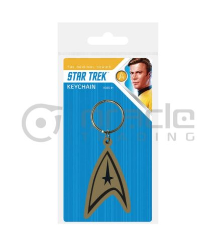 Star Trek Keychain - Com Badge