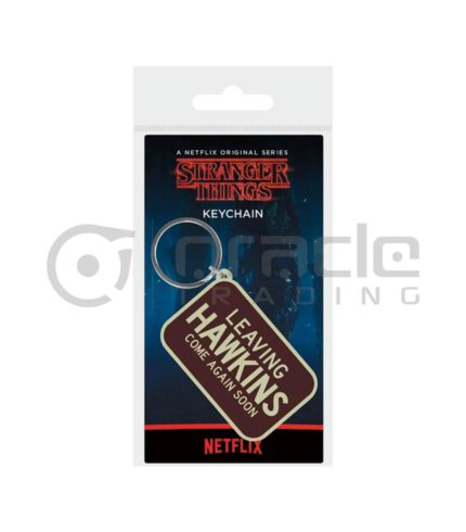 Stranger Things Keychain - Leaving Hawkins