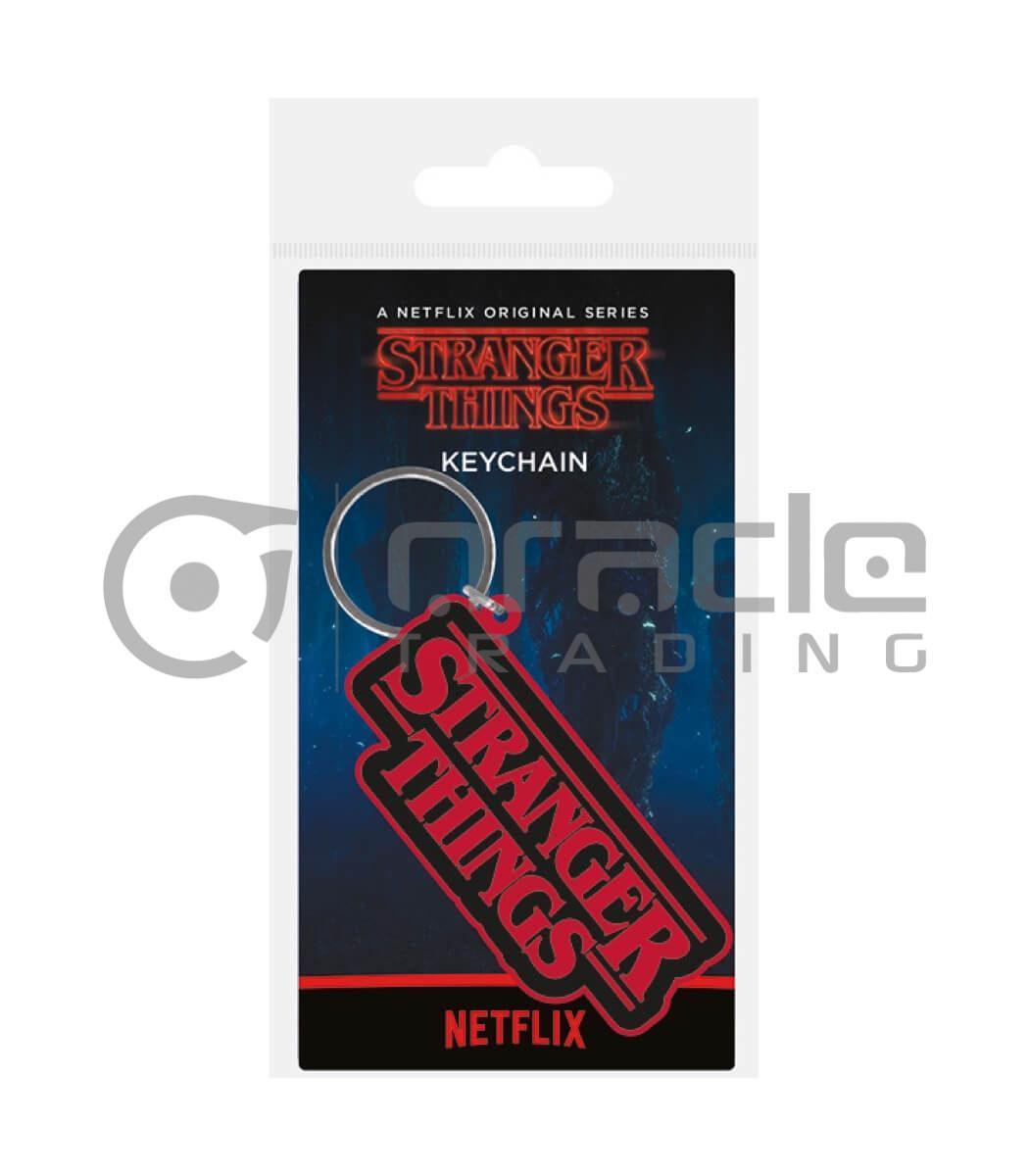 Stranger Things Keychain - Logo