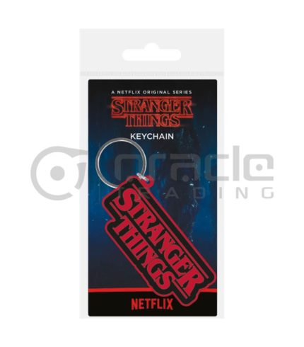 Stranger Things Keychain - Logo