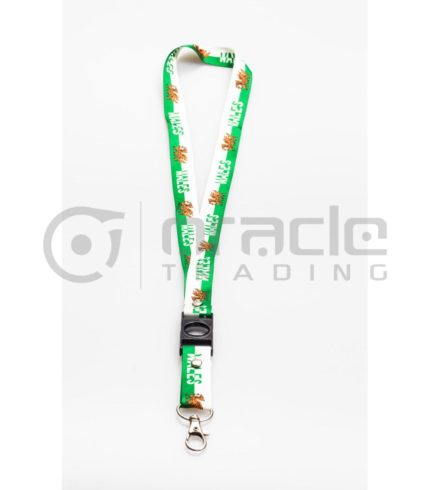 Wales Lanyard Keychain 12-Pack