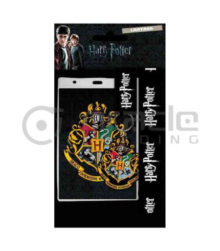 Harry Potter Hogwarts Lanyard & Keychain Set