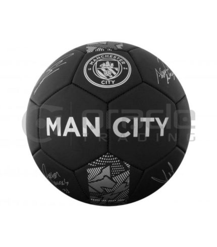Manchester City Large Soccer Ball - Signature