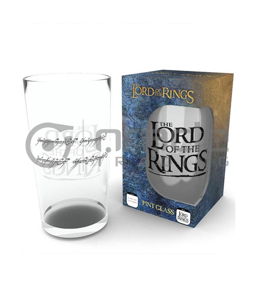 Lord of the Rings Large Glass