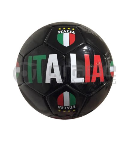 Italia Large Soccer Ball - Black