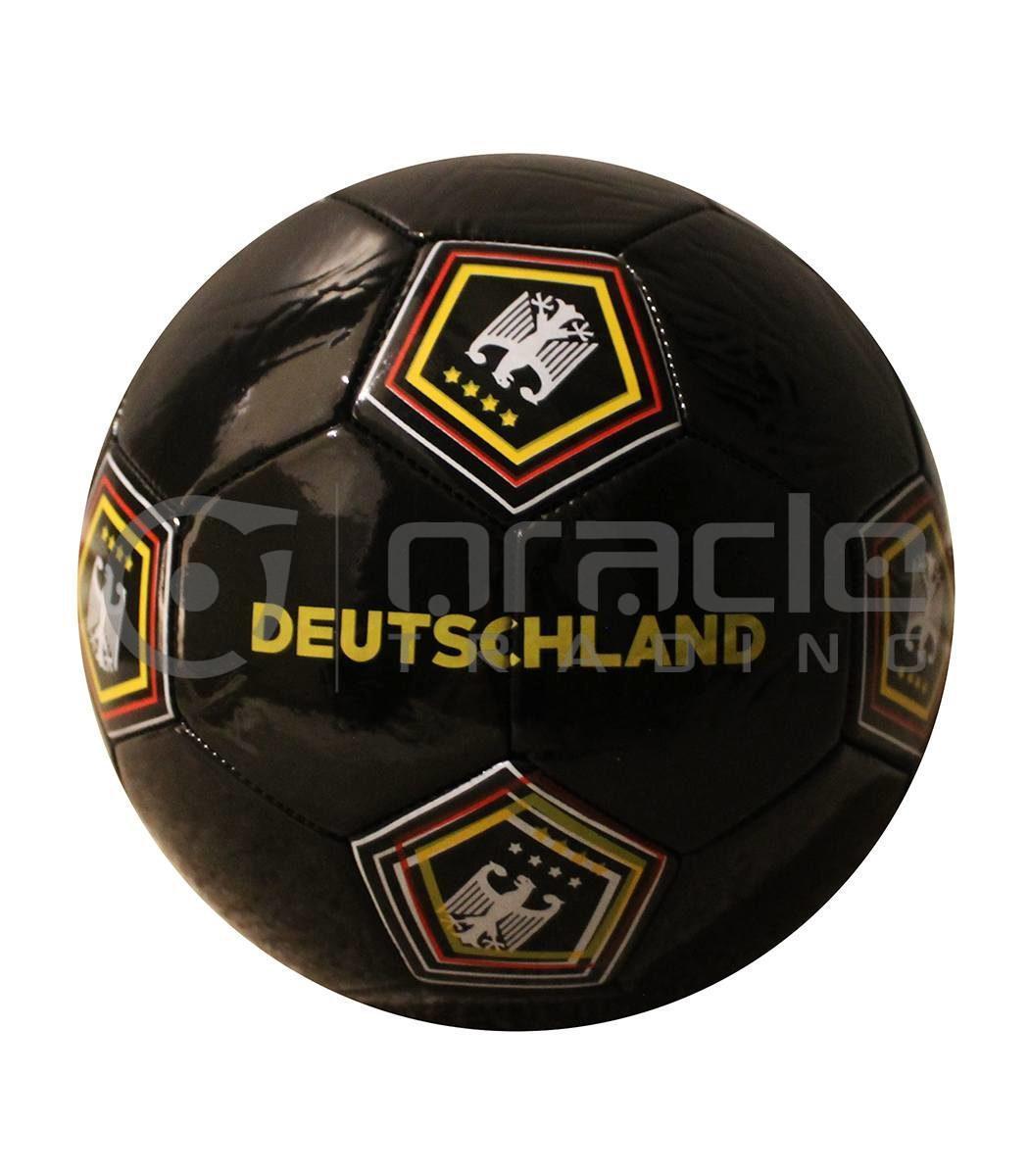 Germany Large Soccer Ball - Black