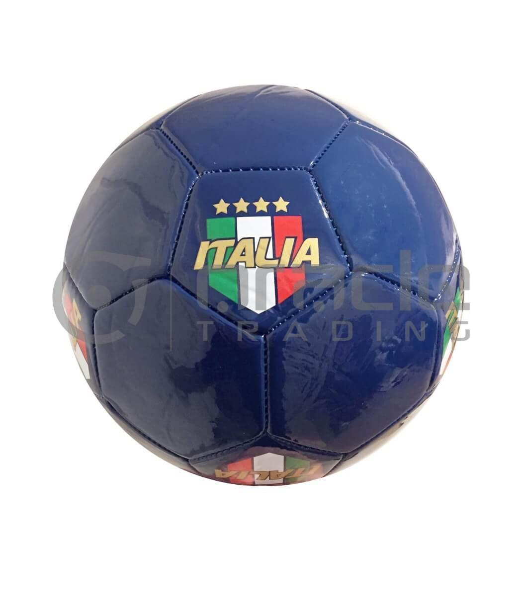 Italia Large Soccer Ball - Blue