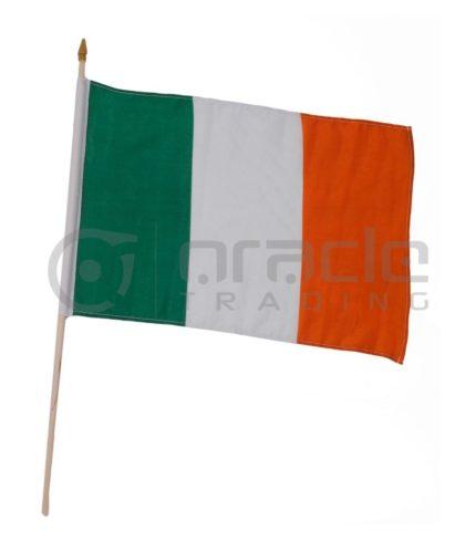 """Ireland Large Stick Flag - 12""""x18"""" - 12-Pack"""