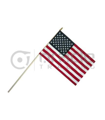 "USA Large Stick Flag - 12""x18"" - 12-Pack"