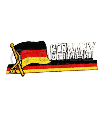 Germany Long Iron-on Patch