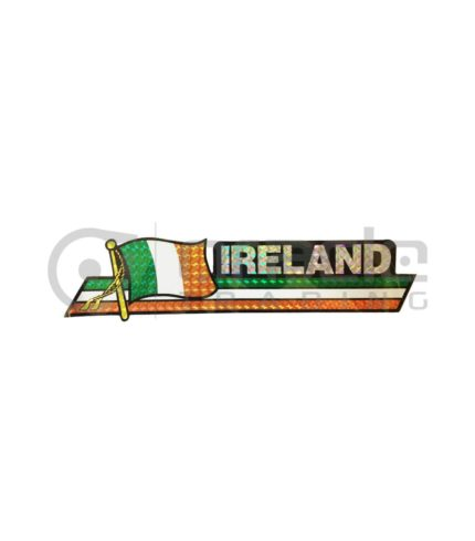 Ireland Long Bumper Sticker