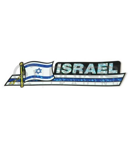 Israel Long Bumper Sticker