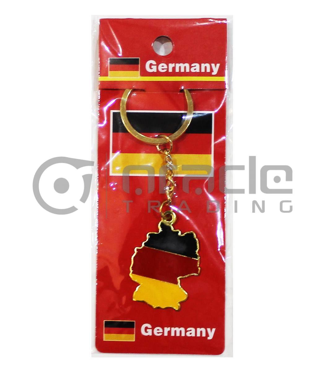 Germany Map Keychain 12-Pack