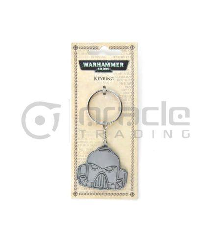 Warhammer Keychain - Space Marine (Metal)