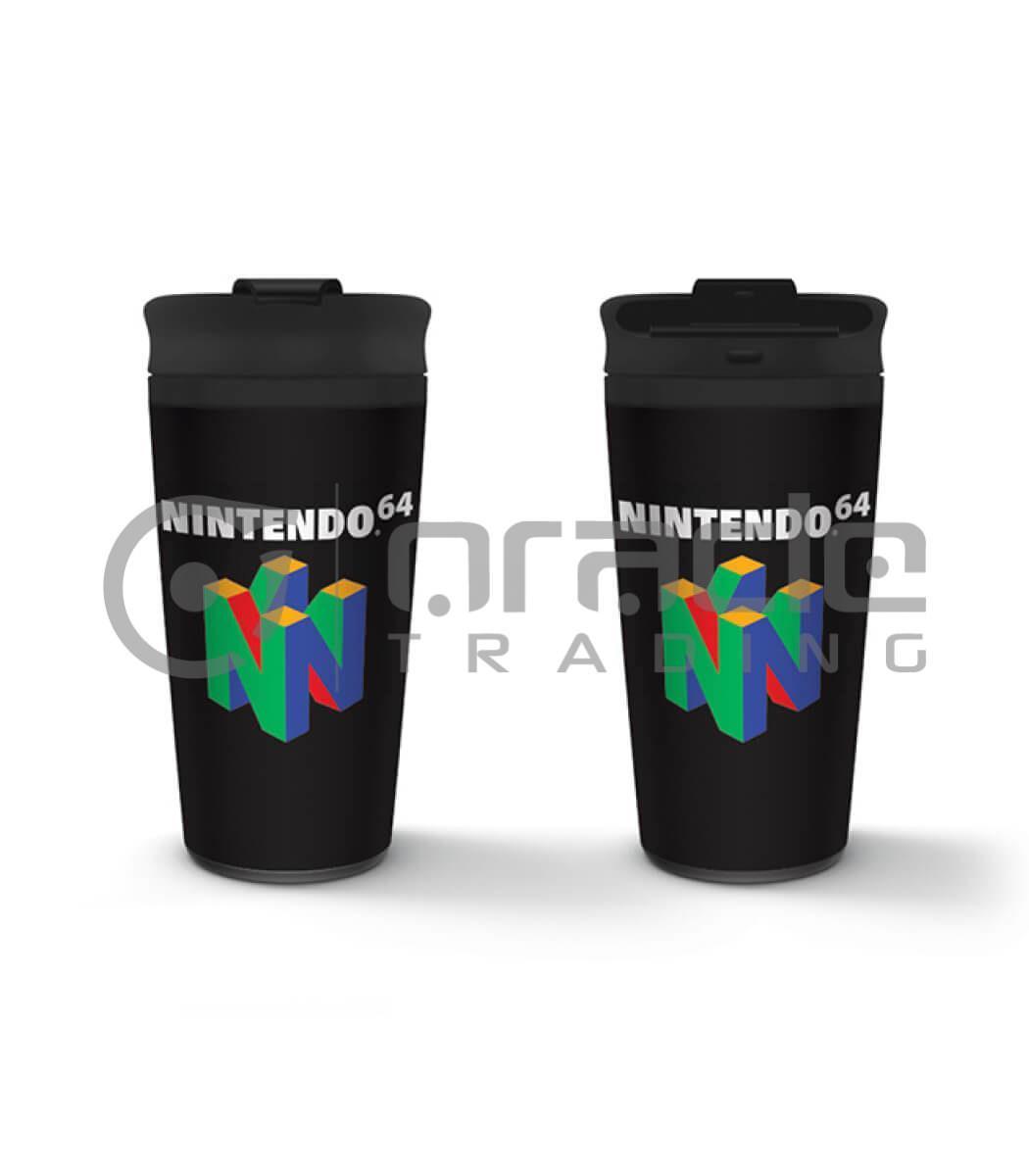 Nintendo N64 Metal Travel Mug