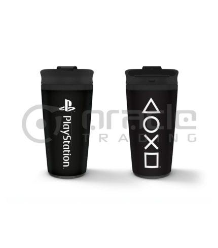 Playstation Metal Travel Mug