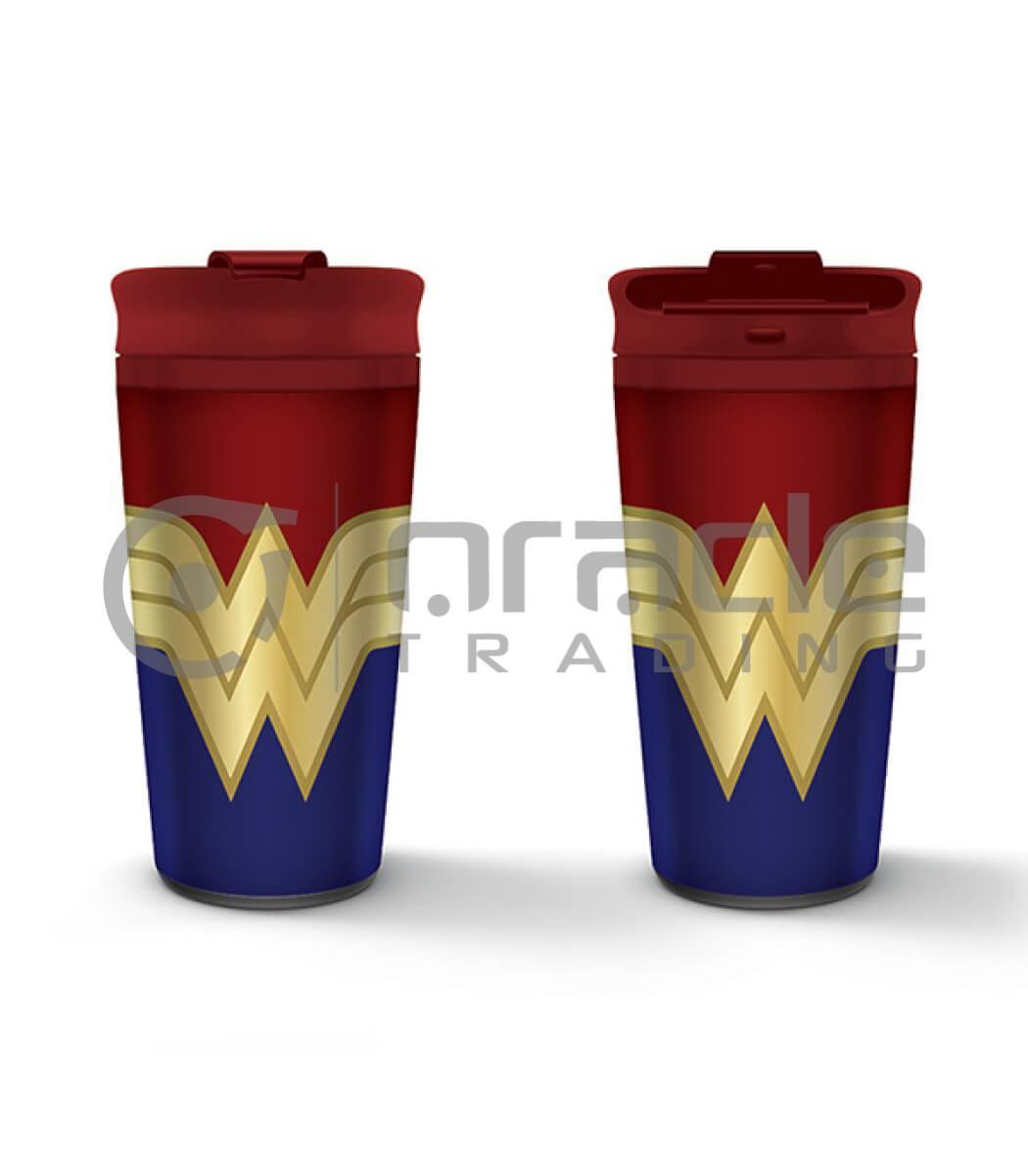 Wonder Woman Metal Travel Mug